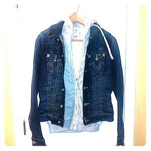 True religion Jean jacket